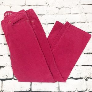 Gap 1969 Real Straight Hot Pink Corduroys Size 16
